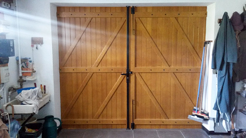 Sublet pose de porte garage Valleiry